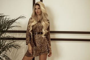 Леопардові сукні і твідові міні-спідниці у лукбуці осінньої колекції українського бренду