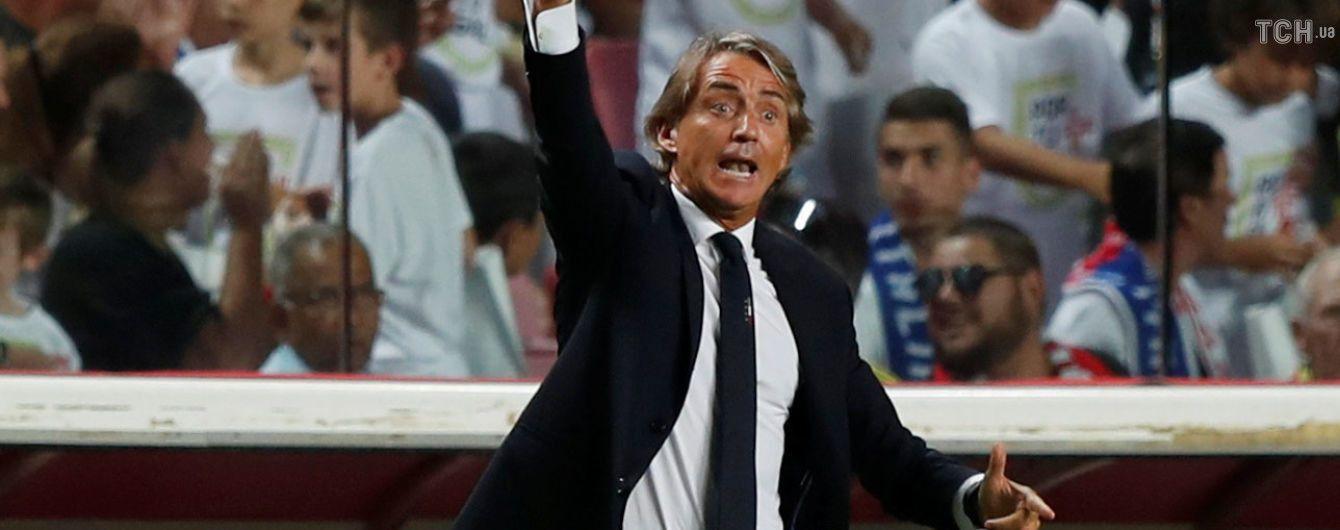Сборная Италии назвала состав на матч с Украиной