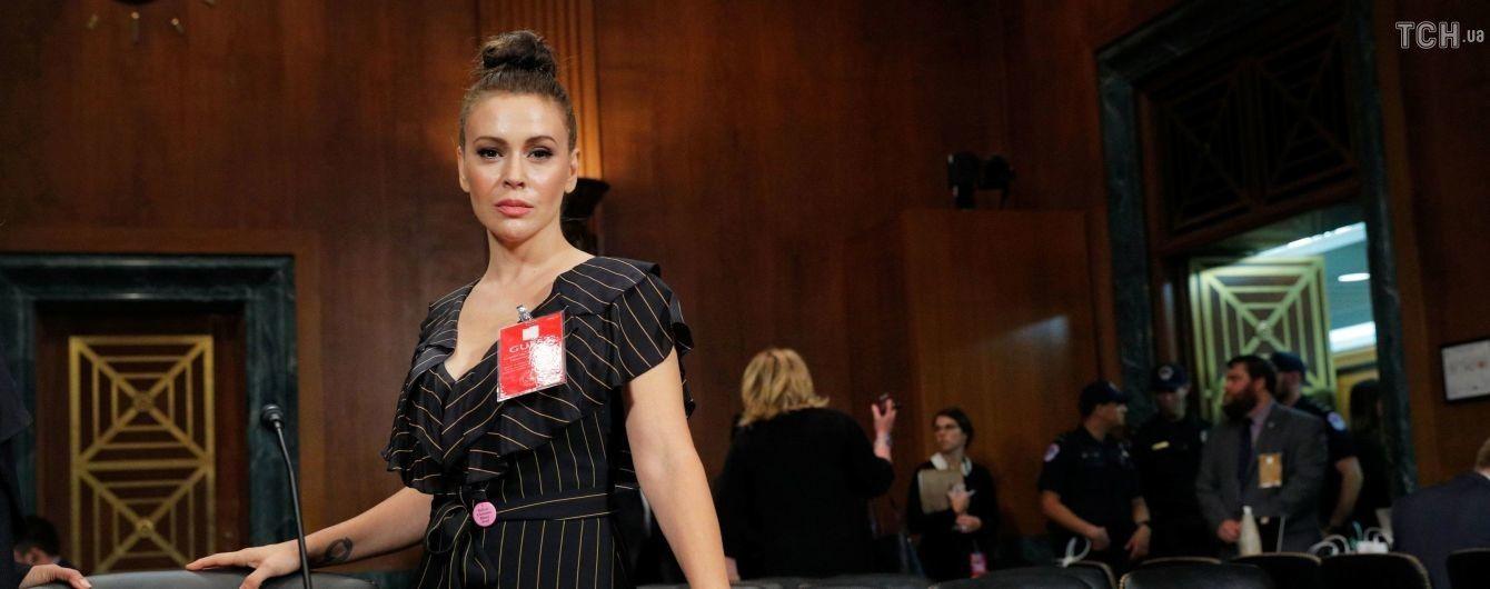 Відчула руку під спідницею та удари у вагіну: Алісса Мілано розповіла страшні подробиці зґвалтування