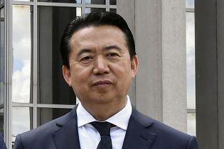 Заарештований у Китаї президент Інтерполу подав у відставку