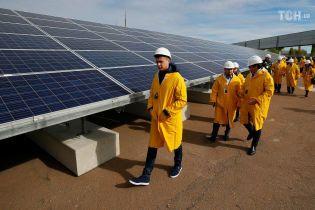 В Чернобыле ввели в эксплуатацию первую солнечную электростанцию