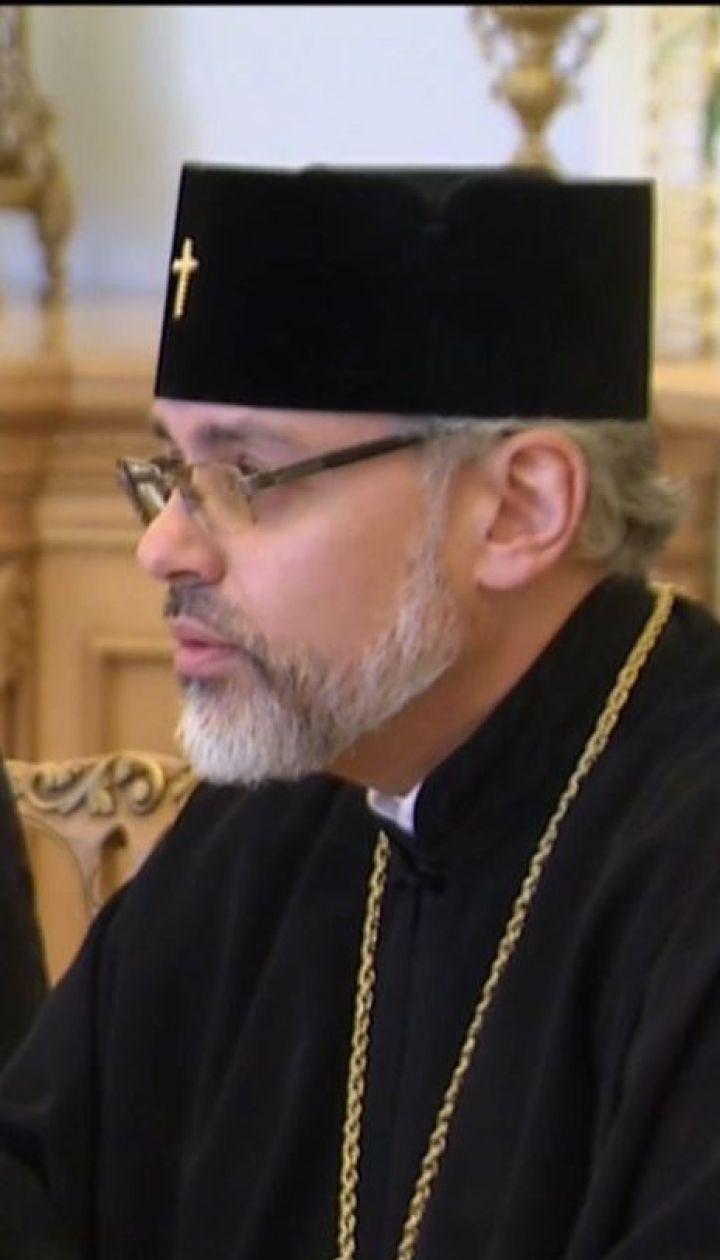 Андрей Парубий официально пригласил в Украину Вселенского патриарха Варфоломея