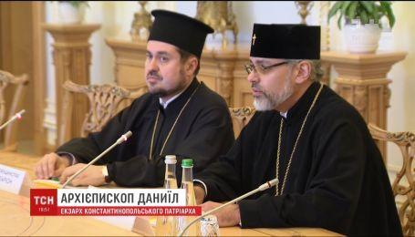 Андрій Парубій офіційно запросив до України Вселенського патріарха Варфоломія