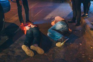 В Киеве посетитель ресторана стрелял в охранников, двое раненых