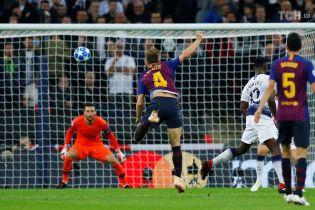 Юбилейный гол Ракитича признан лучшим во 2 туре Лиги чемпионов