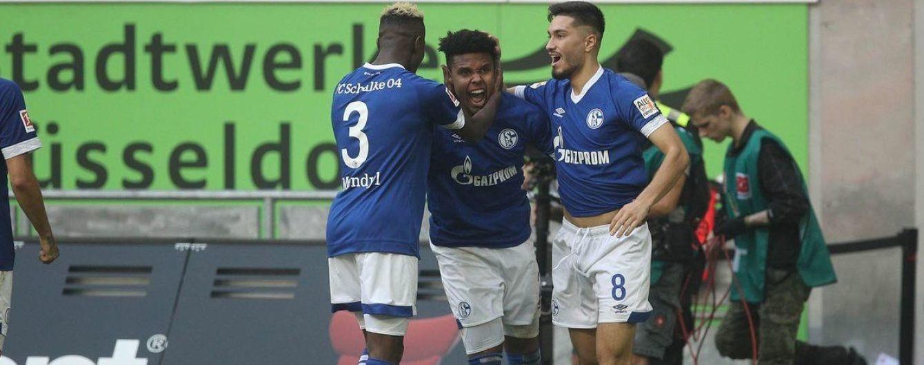 """""""Шальке"""" з Коноплянкою за п'ять хвилин переміг новачка Бундесліги та виліз із дна таблиці"""
