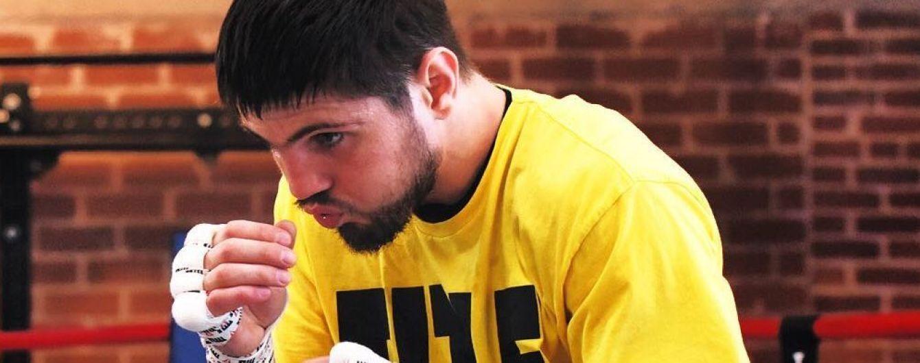 Украинский боец нокаутировал соперника и пробился в четвертьфинал американского боксерского шоу