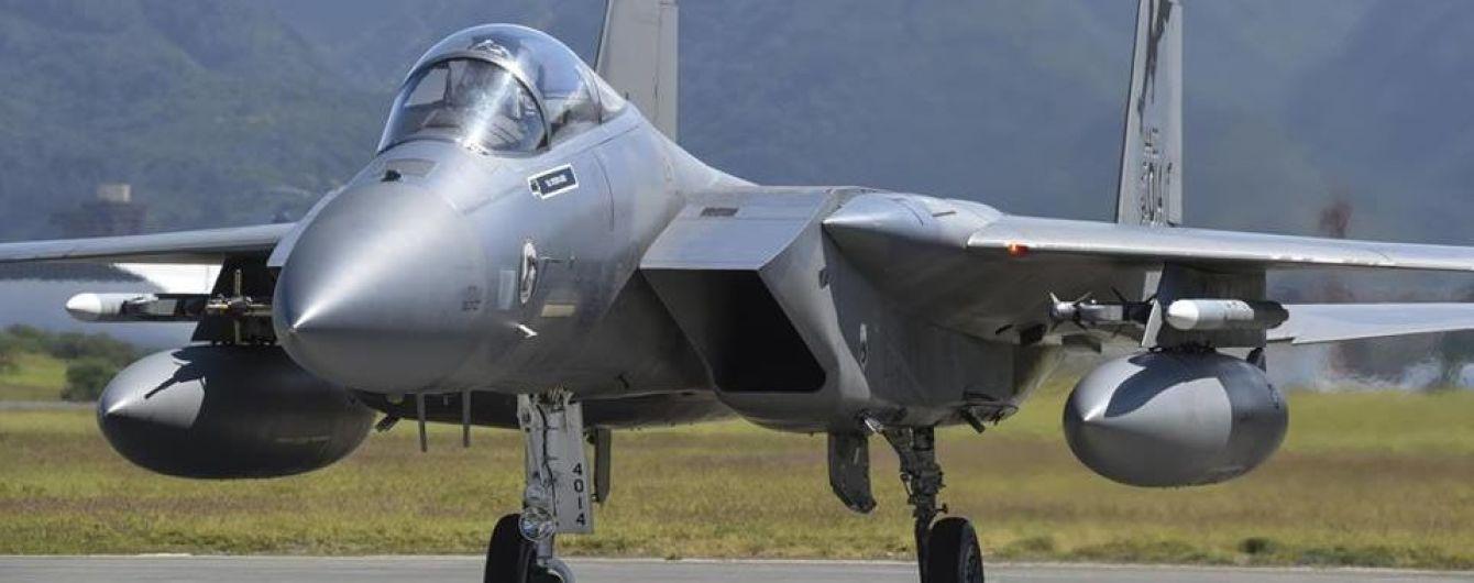 В Украину на учения прибыли самолеты военных сил США