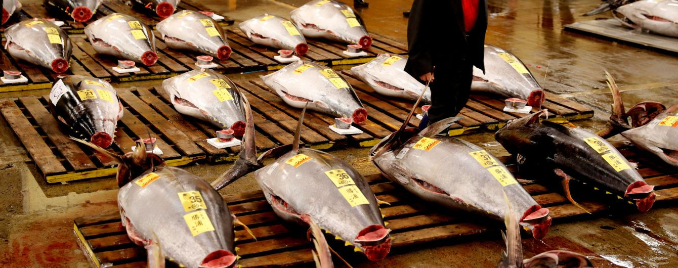 У Токіо закрився найбільший у світі рибний ринок