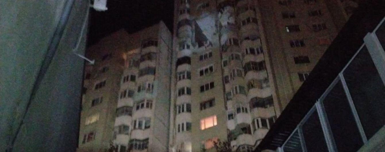 У Кишиневі стався потужний вибух у багатоповерхівці, є загиблі