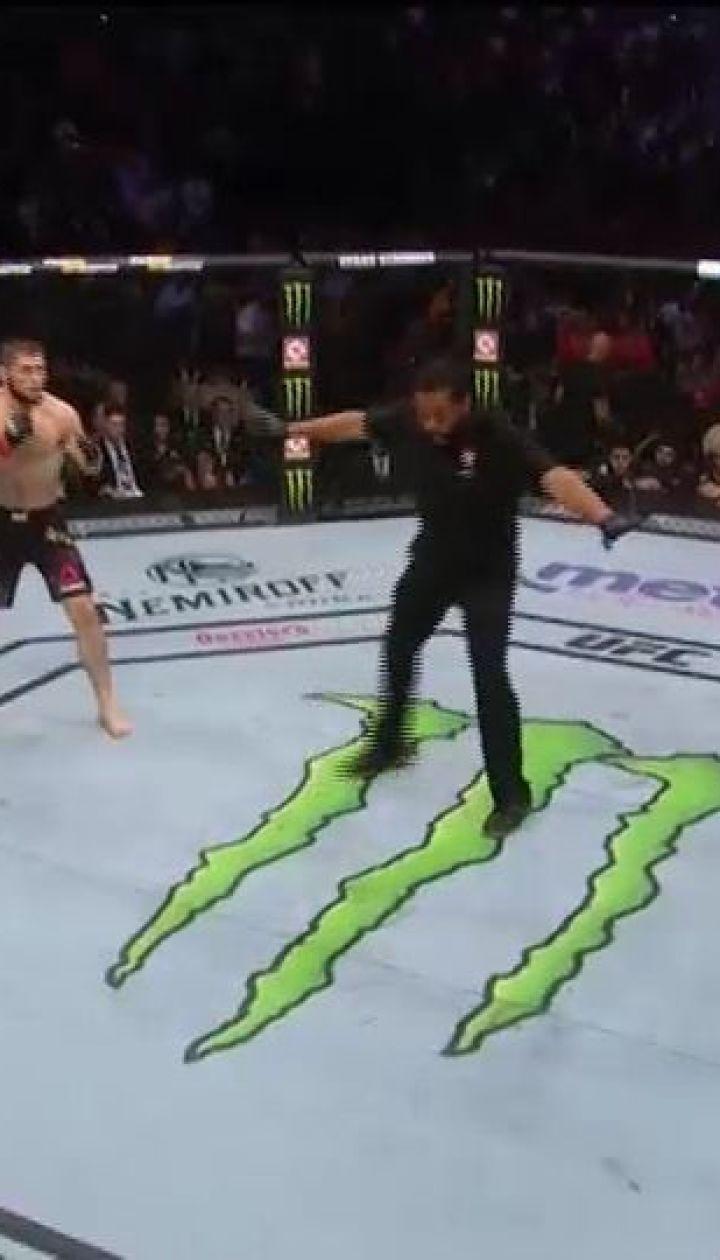UFC. Хабиб Нурмагомедов - Конор Макгрегор. Видео боя