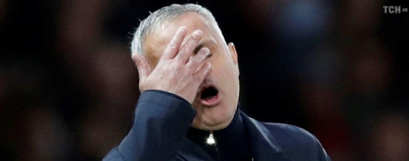 """""""Манчестер Юнайтед"""" повторил антирекорд 18-летней давности по пропущенным голам"""