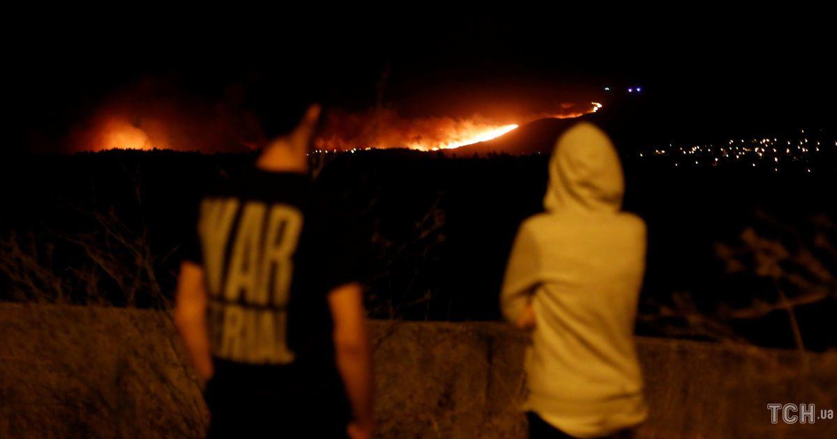 Пожежа в національному парку в Португалії @ Reuters