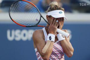 Цуренко не смогла выйти в полуфинал US Open, взяв лишь два гейма