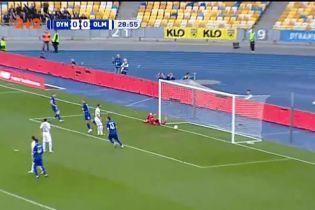Динамо – Олимпик – 1:0. Видео гола Морозюка