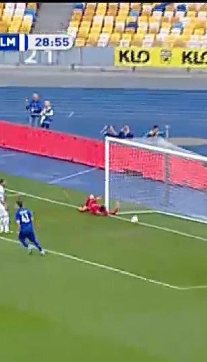 Динамо – Олімпік – 1:0. Відео голу Морозюка