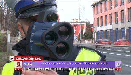 Украинская полиция снова начала пользоваться радарами для измерения скорости