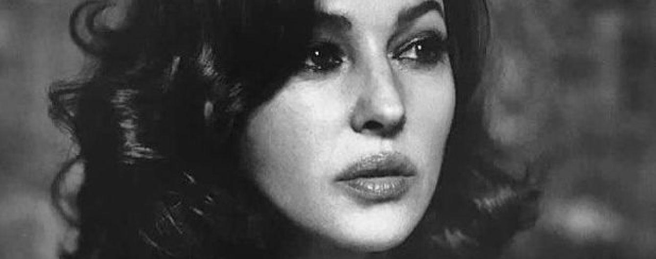 Сексуальная и грациозная: Моника Беллуччи снялась для глянцевого фотосета