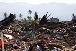Кількість жертв від землетрусу та цунамі в Індонезії вже майже досягла двох тисяч осіб