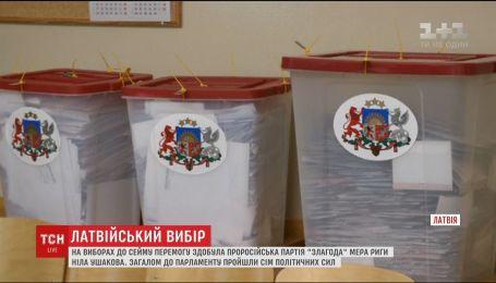 Прокремлевские силы победили на парламентских выборах в Латвии