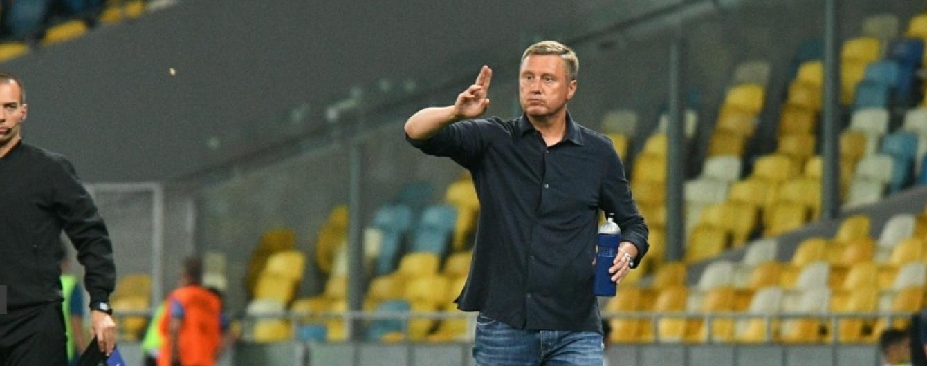 """Хацкевич: Чомусь звикли до того, що """"Динамо"""" має всіх виносити"""