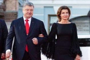 Здивувала: Марина Порошенко у короткій сукні і червоних туфлях з'явилася на червоній доріжці