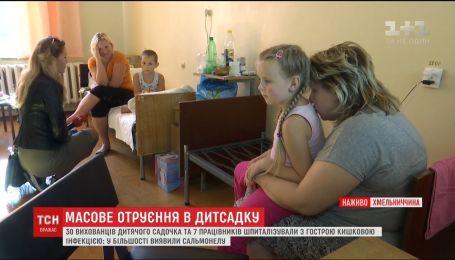В Хмельницкой области десятки воспитанников детсада госпитализировали с острой кишечной инфекцией