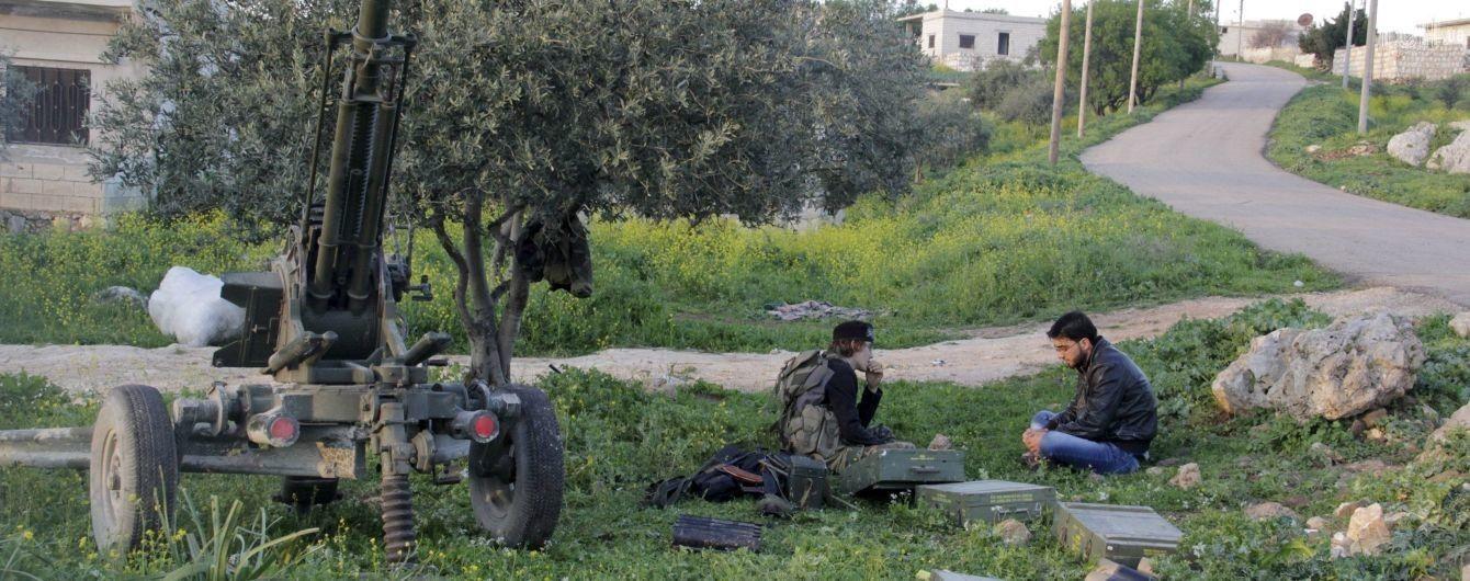 Антиурядові сили в сирійському Ідлібі завершили відведення важкого озброєння – ЗМІ