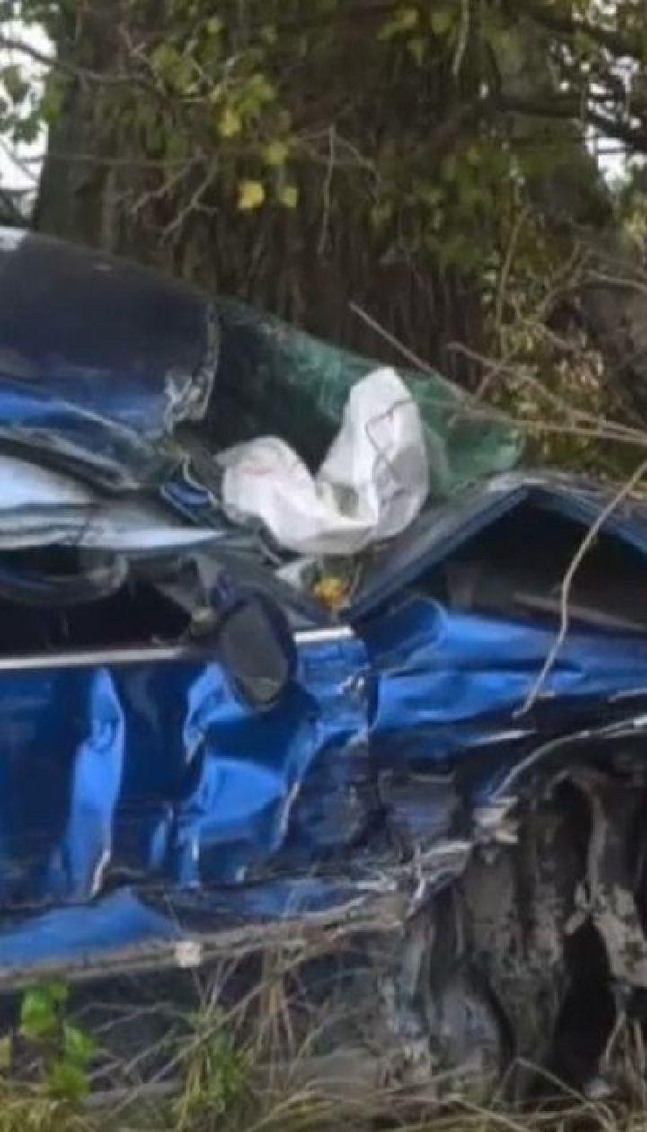 Трехмесячный младенец погиб в ДТП на Львовщине
