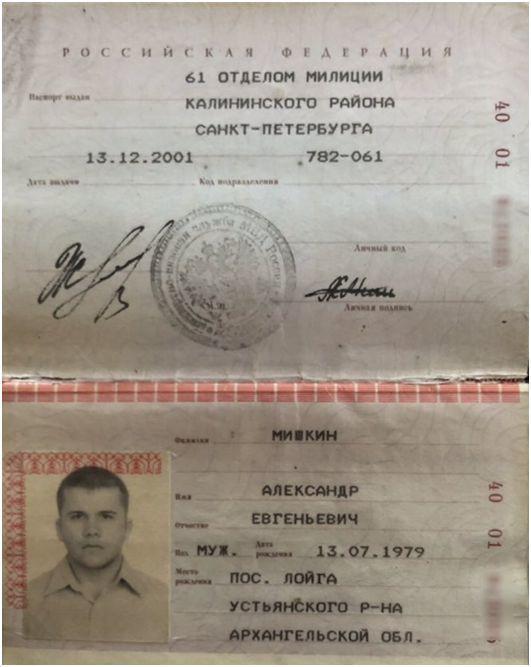 Олександр Мішкін - Петров. Паспорт