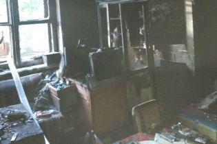 В Кривом Роге во время пожара во Дворце культуры погиб мужчина
