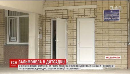 Отравление в Хмельницкой области: количество больных острой кишечной инфекцией возросло до 45
