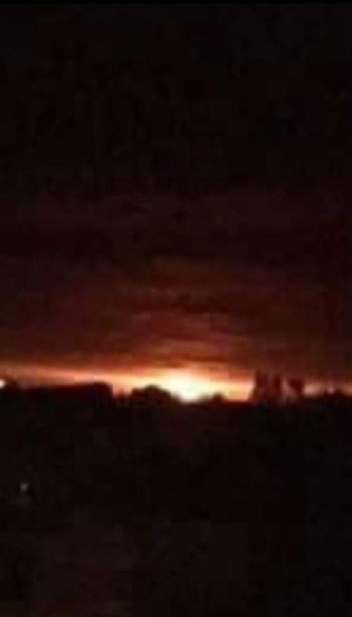 На Чернігівщині зайнявся арсенал з боєприпасами