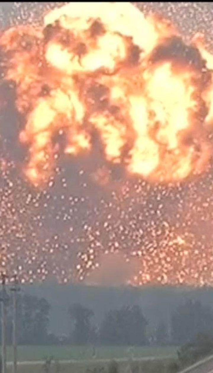 Арсенал біля Ічні - шостий склад боєприпасів, який вибухнув за останні 10 років