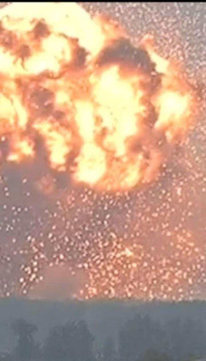 Арсенал у Ични - шестой склад боеприпасов, который взорвался за последние 10 лет