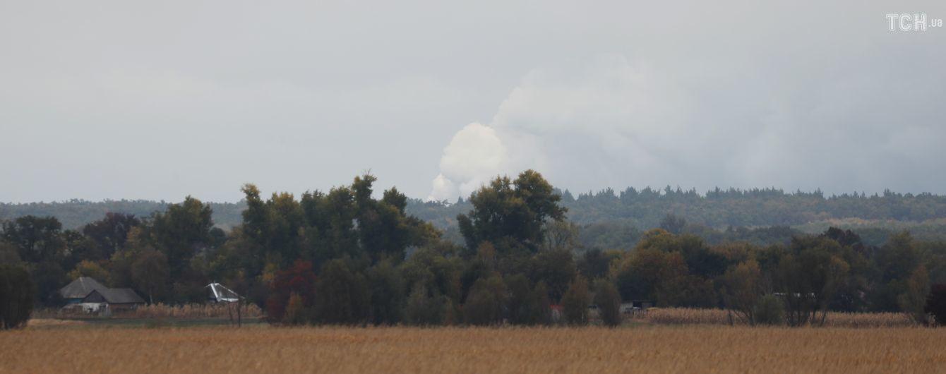 СБУ назвала попередню версію вибухів на військових складах на Чернігівщині
