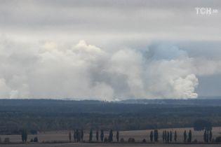 Вибухи на військових складах на Чернігівщині: хімічної зброї на арсеналі немає