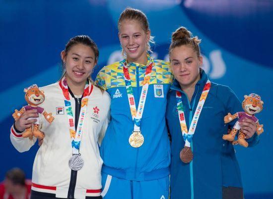 """Україна здобула перше """"золото"""" Юнацьких Олімпійських ігор"""