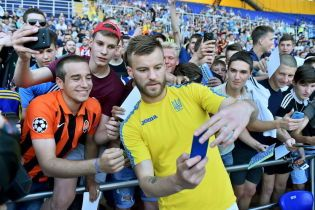 Ярмоленко признан лучшим игроком сборной Украины в 2018 году