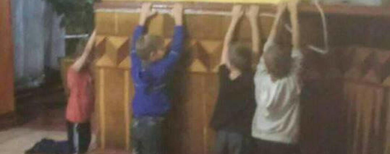 На Хмельнитчине воспитатель санатория успокаивал детей ударами по голове и ставил на колени - Кулеба