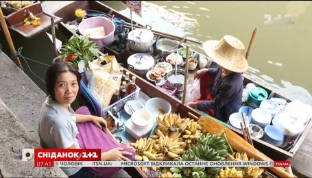 Мой путеводитель. Таиланд - плавучий рынок Таиланда