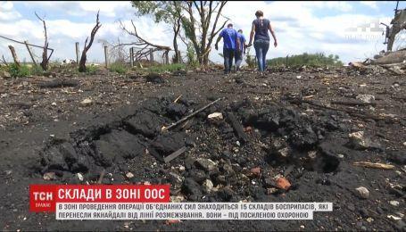 Склады боеприпасов в зоне проведения ООС находятся под усиленной охраной