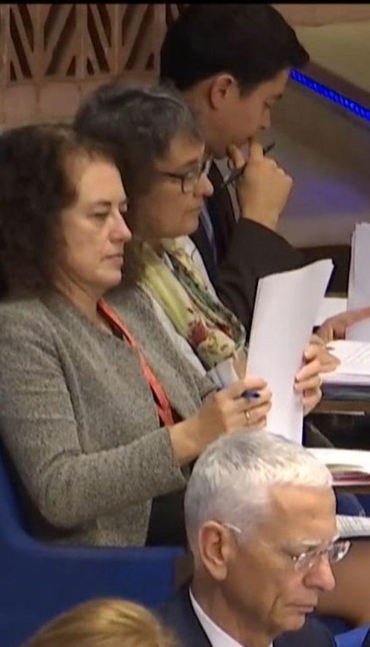 У ПАРЄ розпочалися дебати щодо зняття санкцій з Росії
