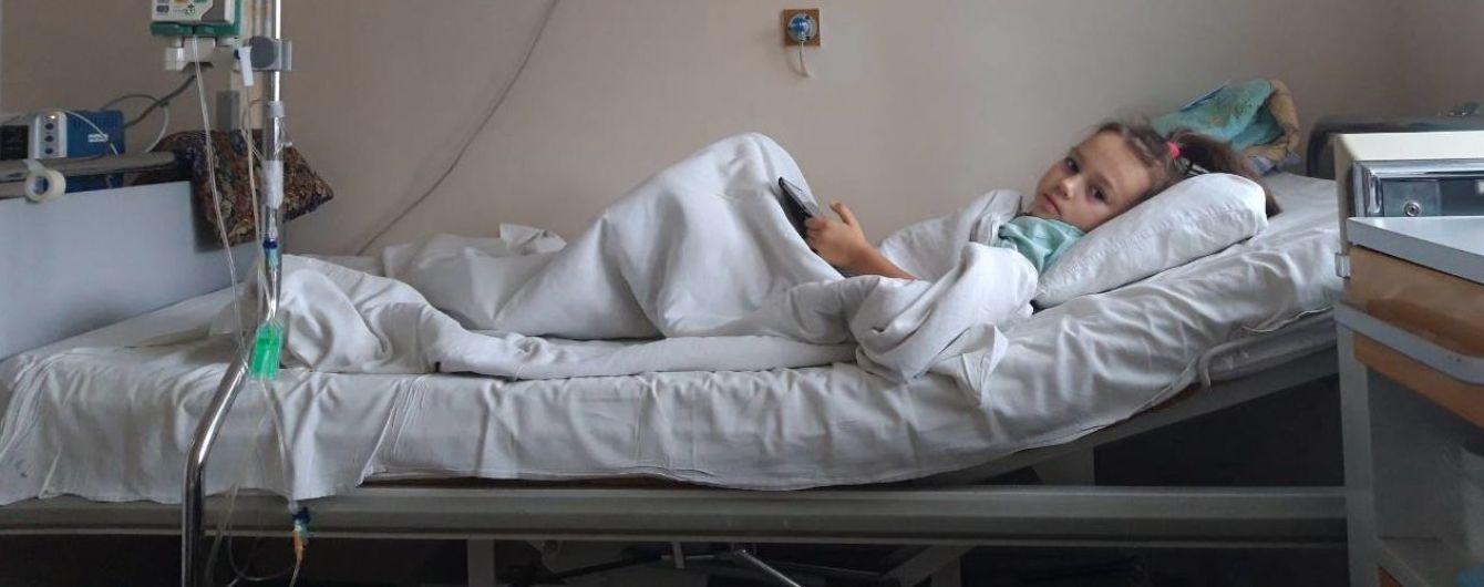 Лейкемия поставила под угрозу жизнь 5-летней Вероники