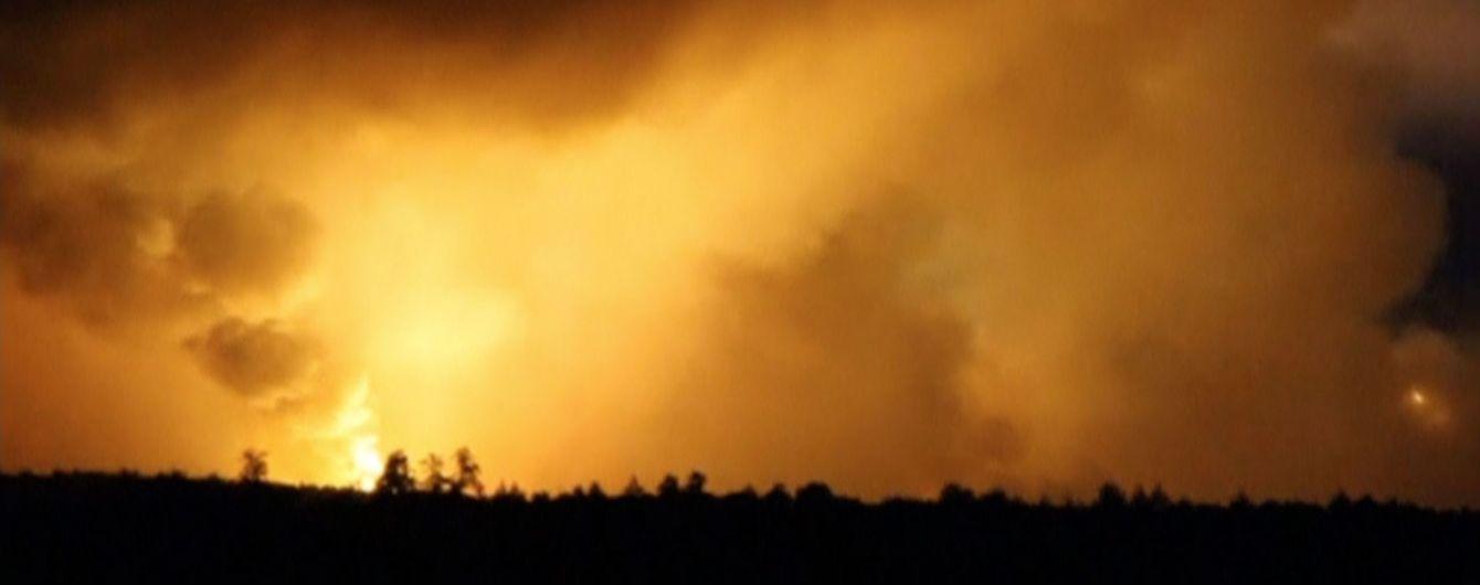 Взрывы возле Ични. Луценко заявил, что версия про халатность уже опровергнута