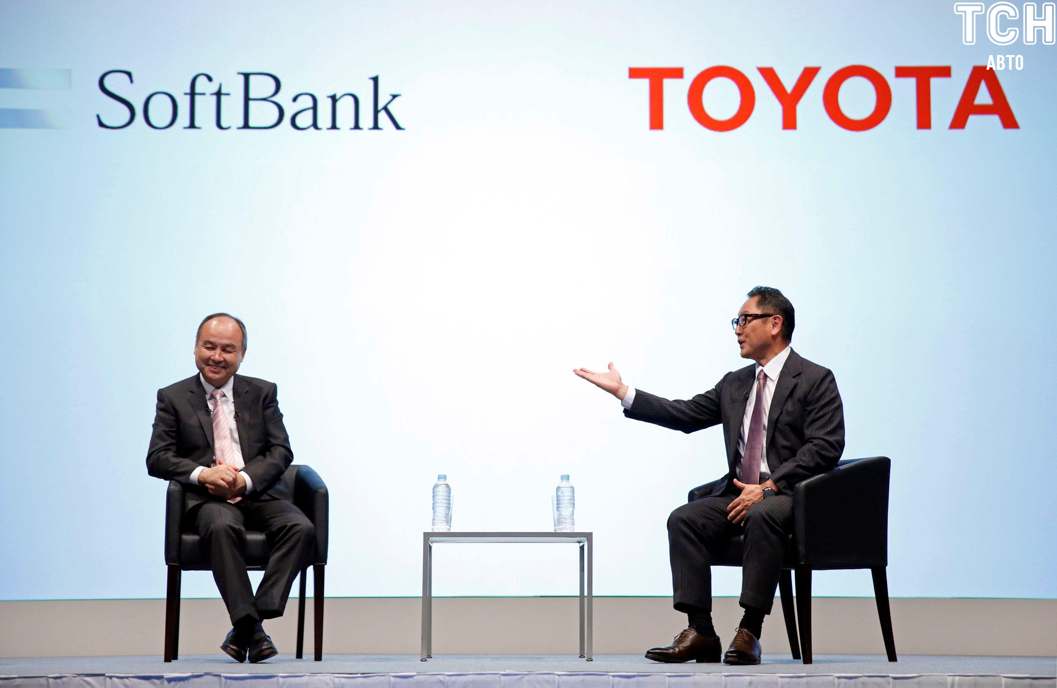 Grab, Toyota и SoftBank_2