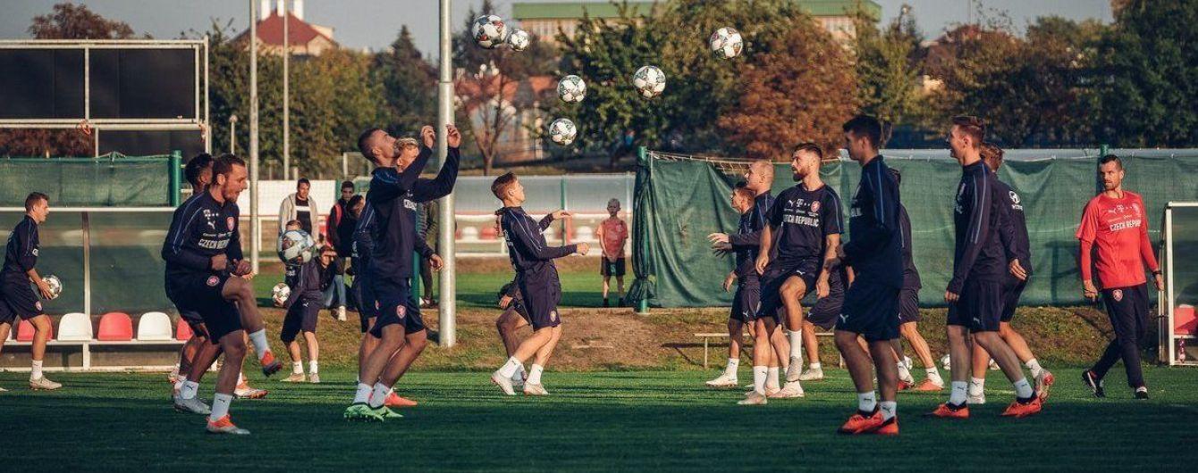 Сразу пятеро игроков не помогут сборной Чехии в матче Лиги наций с Украиной
