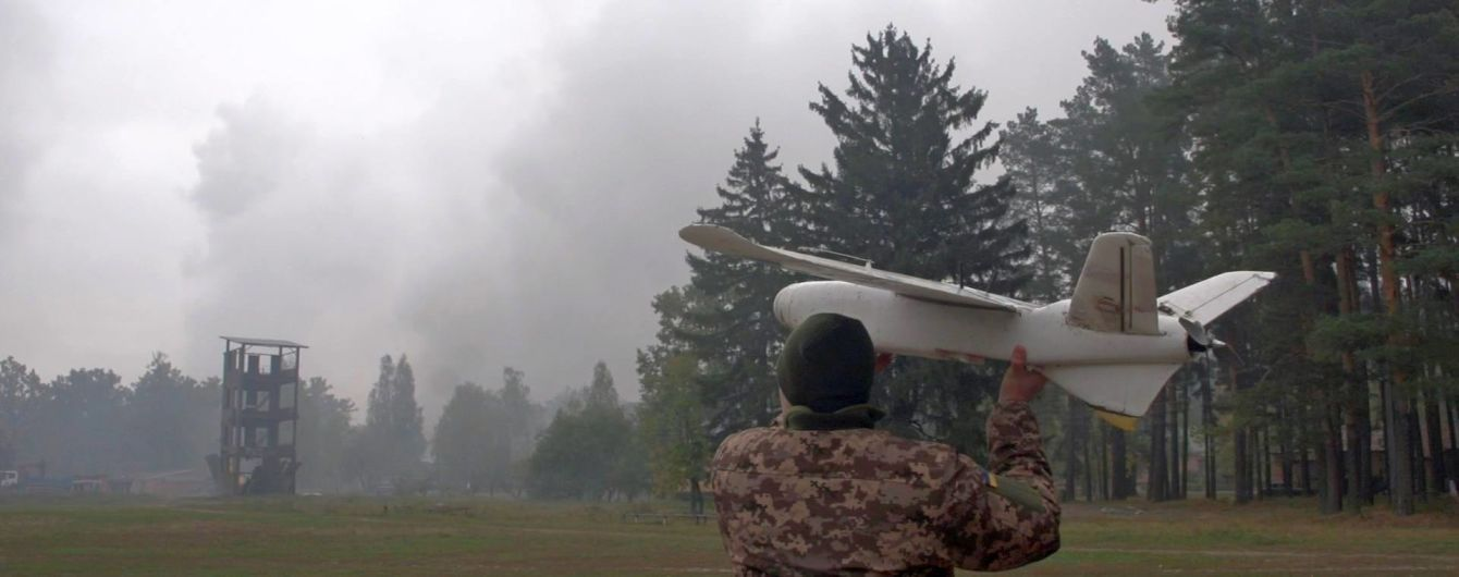 До вибухів арсеналу біля Ічні місцеві жителі бачили над полігоном безпілотники