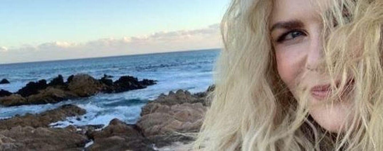 Без макіяжу і на пляжі: Ніколь Кідман показала фото з відпочинку