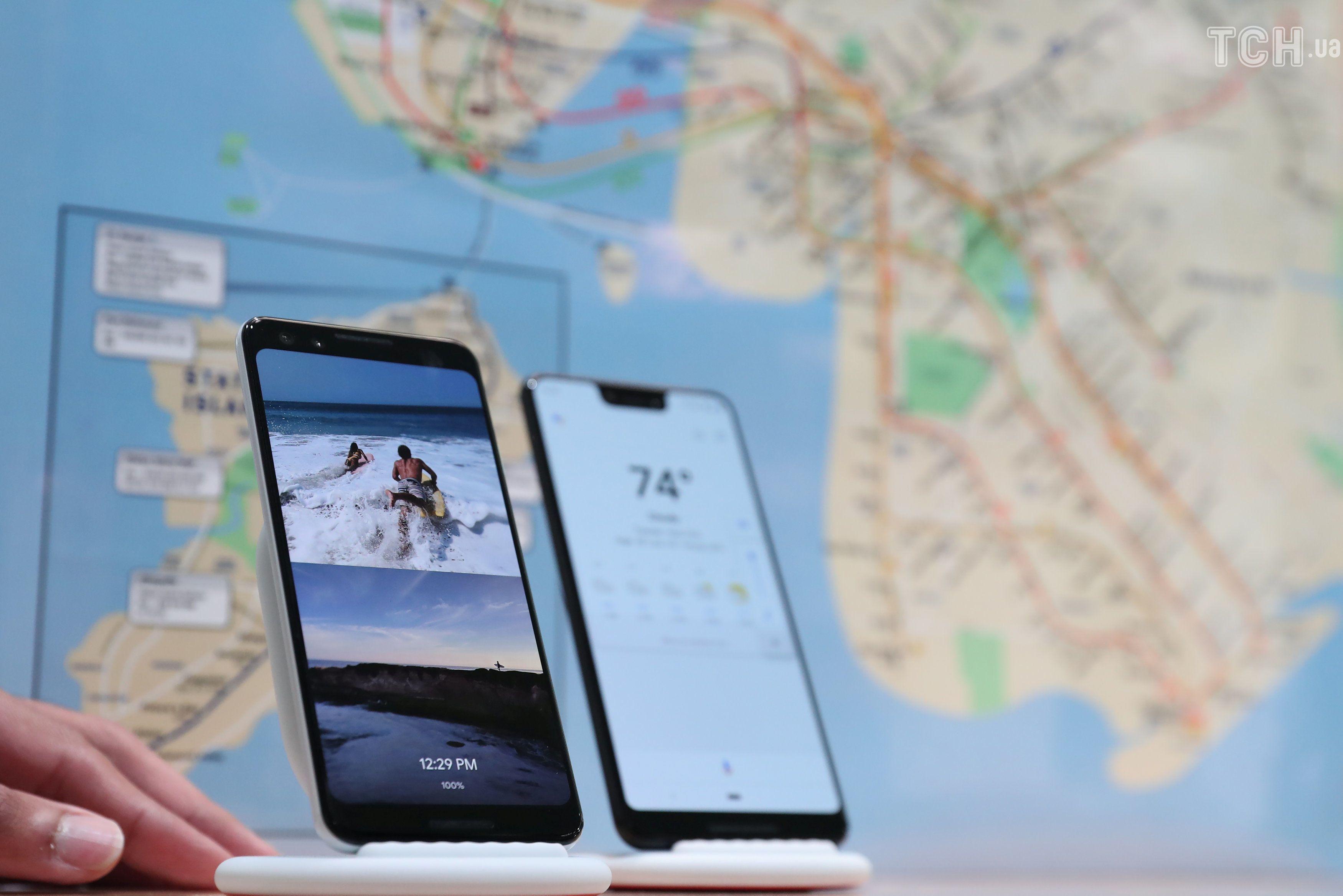 Google презентація смартфону pixel 3 і планшету_2